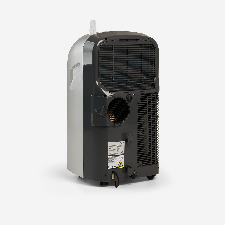 Climia CMK 2950 Silver Grey - Mobiles Raumklimagerät mit umweltfreundlichem Kältemittel R290