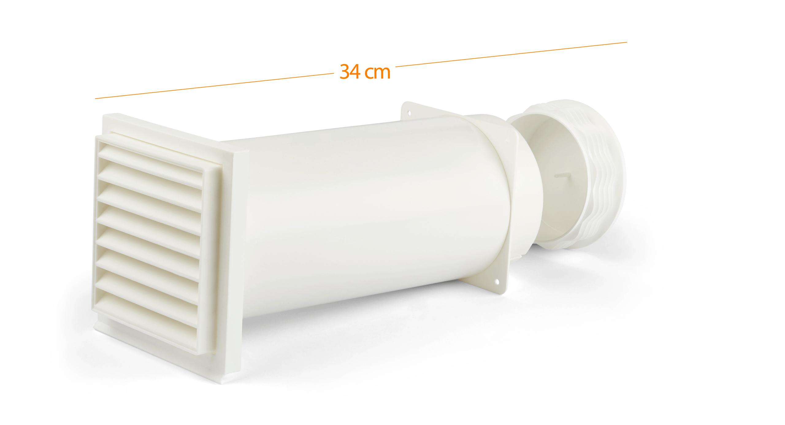 Climia CMK 2600 Wanddurchführung für Abluftschlauch