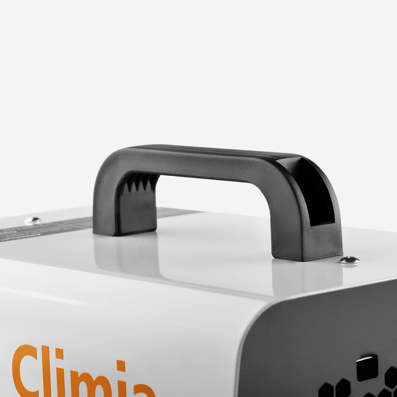 Climia CEH 22 - Schnelle Wärme für Hobby oder Arbeitsstätte