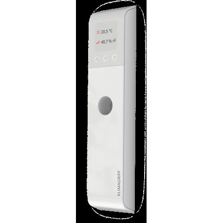 KLIMAGRIFF®  Ihr smarter Lüftungshelfer - Optional mit CO2 und VOC Messung wenn es um saubere Raumluft geht.