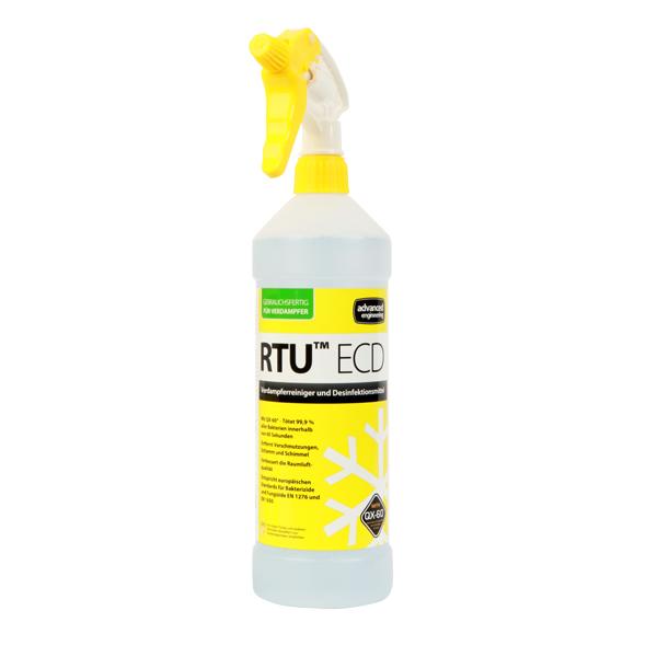 RTU ECD Verdampferreiniger und Desinfektionsmittel in der 1L-Sprühflasche für Klimageräte