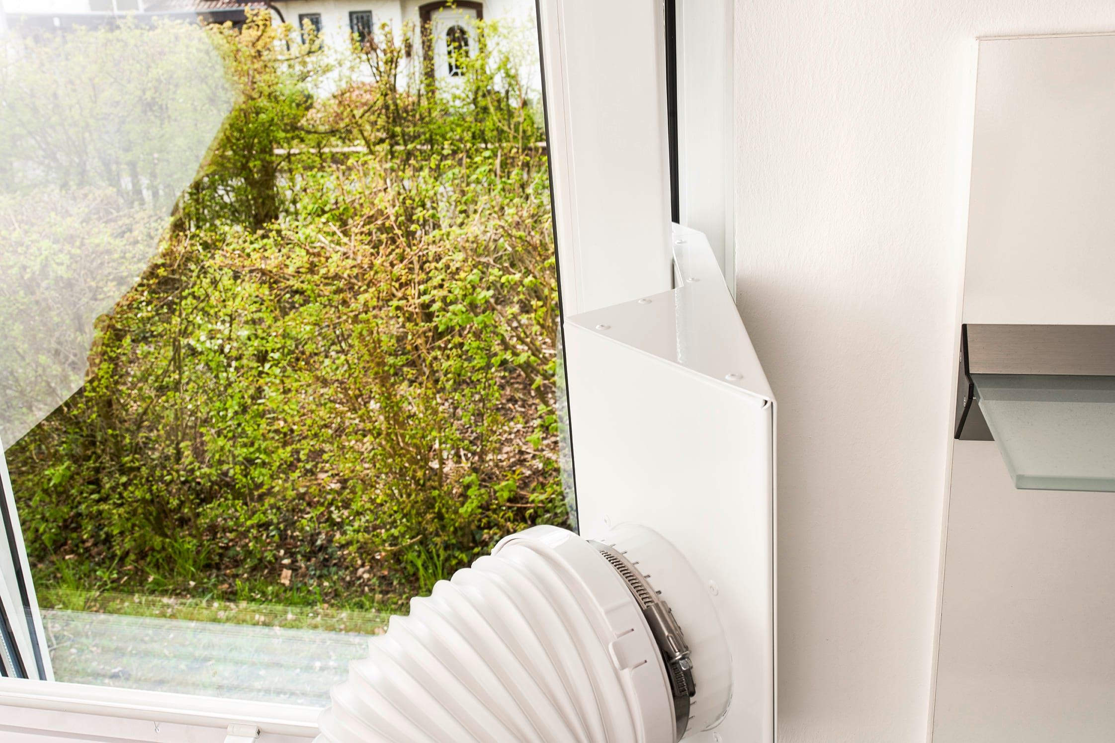 Climia CMK 2600 Sparpaket #5  - Klimagerät inkl. Fensteradapter (2021) & Schutzhülle