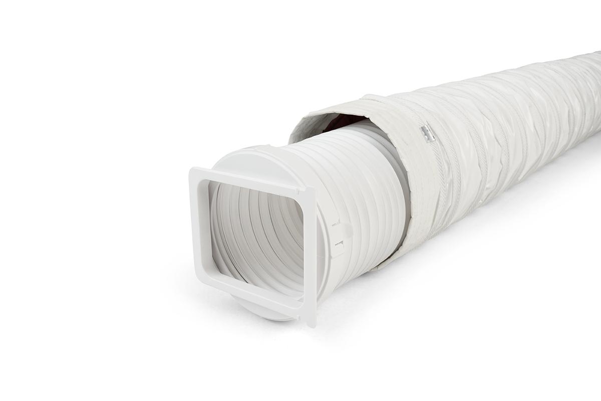 Climia Überzug für Abluftschlauch  - 160mm Ø  - Thermisch akustisch isoliert für mobile Klimageräte