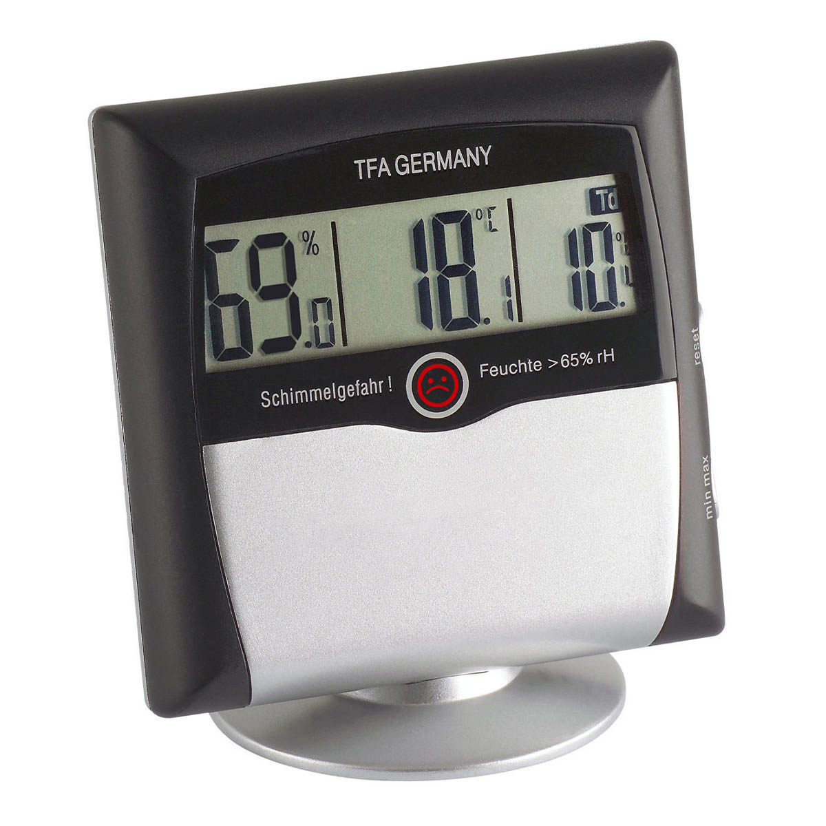 Digitales Thermo-Hygrometer COMFORT CONTROL mit Schimmelwarnfunktion