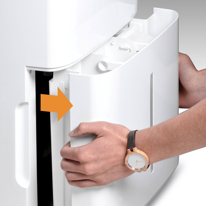 Climia CTK 240 ECO - Mobiler Luftentfeuchter mit Timer-Funktion und Zwei Stufen Ventilator