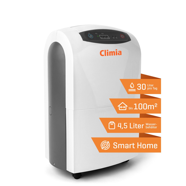 Climia CTK 190 ECO Raumluftentfeuchter-Vorteile