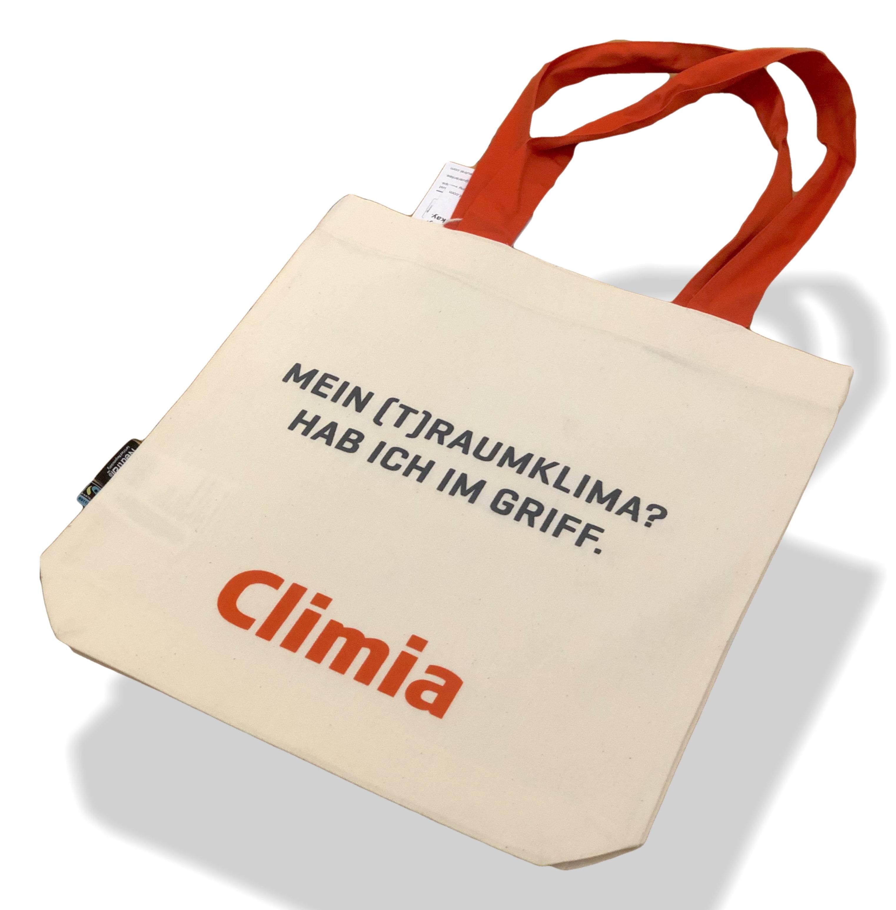 Tasche 100% Bio- und Fairtrade-zertifizierte Baumwolle by Climia