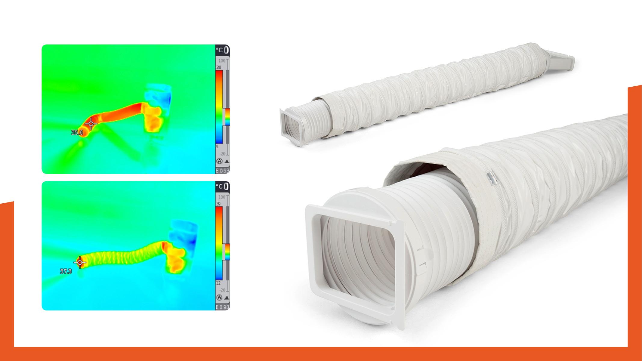 Thermoisolierschlauch-Klimagerät-vergleich