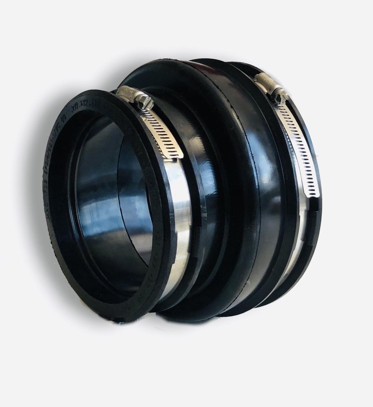 Adapterkupplung für Fensterdüse mit Anschluss 160mm und Reduzierung auf 110 – 125mm