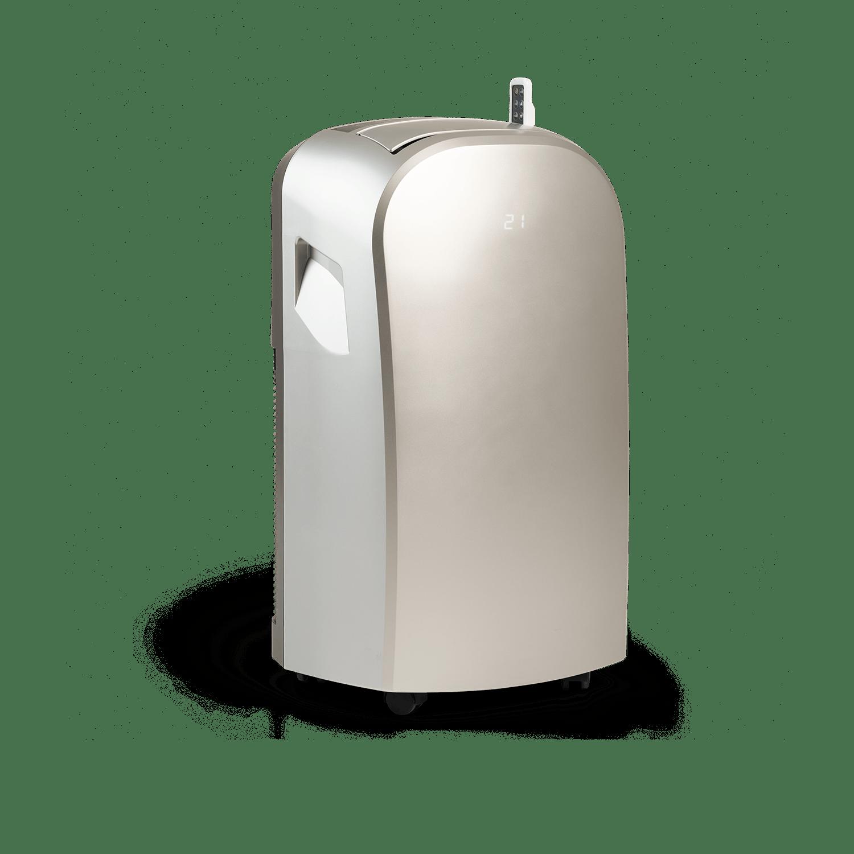 Climia mobiler Bautrockner ca. 60 Liter in 24h, Ventilator und Luftentfeuchter, Klimagerät [Energieklasse A]