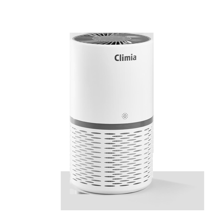Smarter Climia Luftreiniger CLR 250 mit 3-in-1 True-HEPA-13 Luftfilter und Aktivkohlefilter